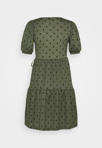 Gina Tricot - TUVA DRESS - Jersey dress - green - 7