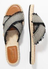 Lauren Ralph Lauren - CROSS - Pantofle - black - 3