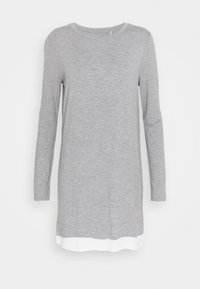 Marc O'Polo - SLEEPSHIRT CREW NECK - Pyjama top - grau - 3