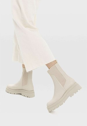 Classic ankle boots - off white