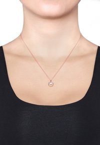 Elli - KREIS RUND GEO - Necklace - rosegold-coloured - 0