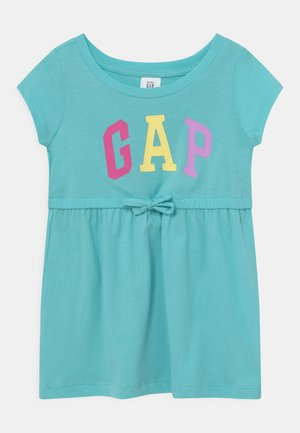 TODDLER GIRL - Jersey dress - ice water blue