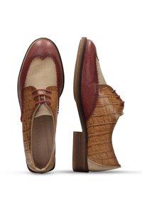 Hispanitas - Veterschoenen - brown - 3