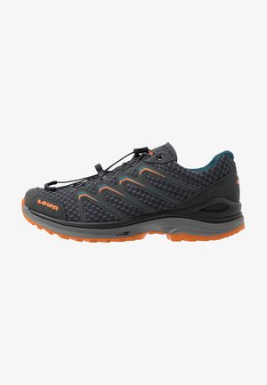 MADDOX LO - Hiking shoes - anthrazit/petrol