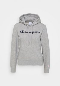 Champion - ESSENTIAL HOODED LEGACY - Bluza z kapturem - mottled grey - 4