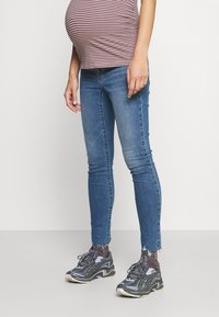GAP Maternity - ALFRED - Jeans slim fit - medium indigo - 0