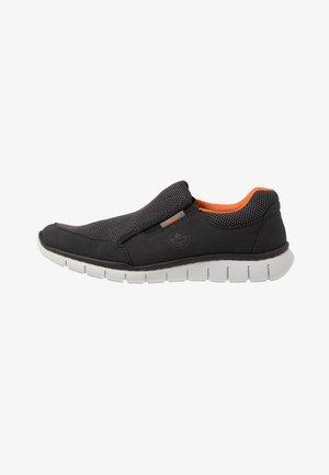 Nazouvací boty - schwarz/grau