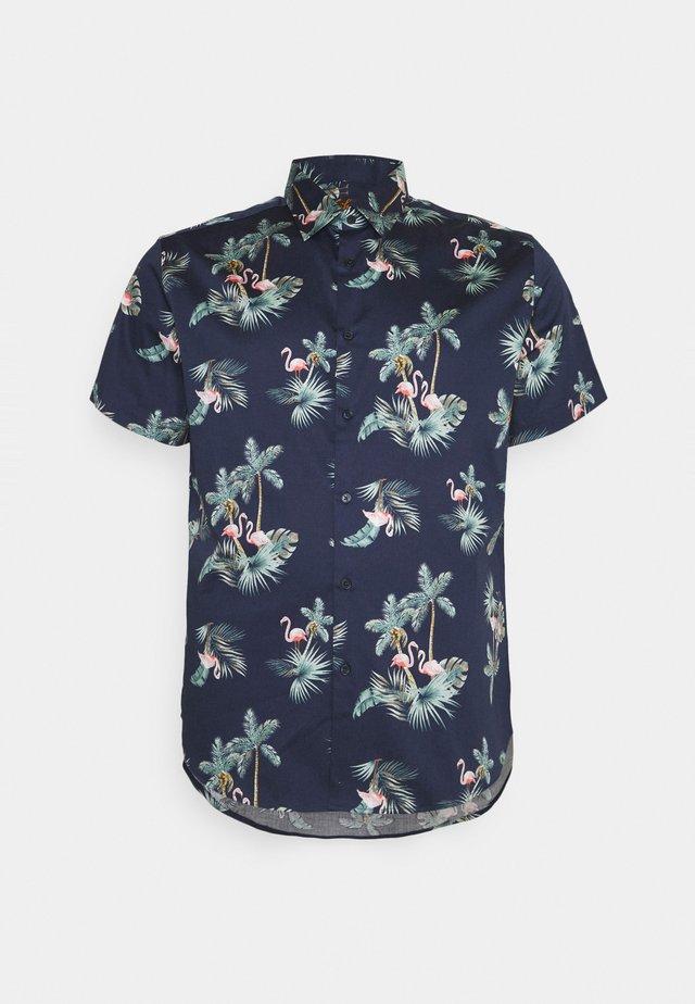 JENSON PRINT - Shirt - navy