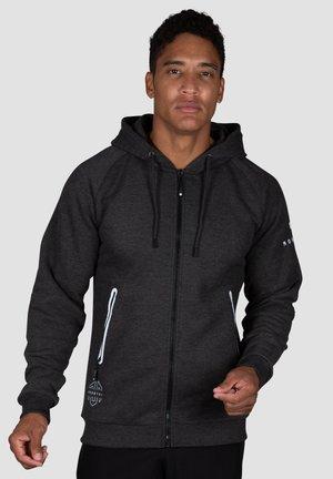 YVO TECH - Zip-up hoodie - dunkelgrau