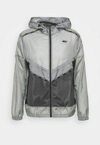 Sports jacket - smoke grey/off noir/black/silver