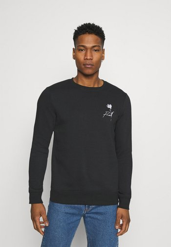 JPRBLASKETCH CREW NECK  - Sweatshirt - black