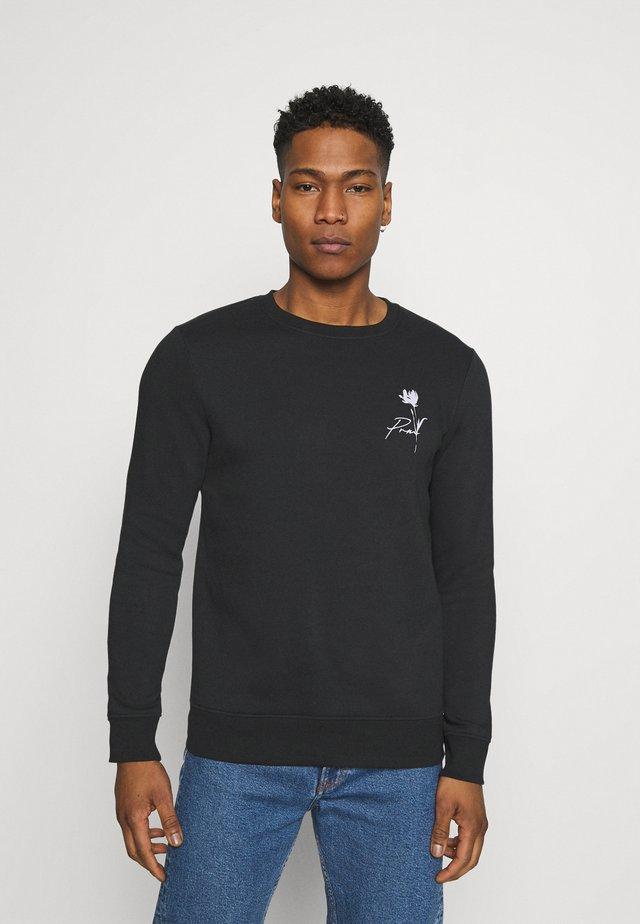 JPRBLASKETCH CREW NECK  - Sweater - black