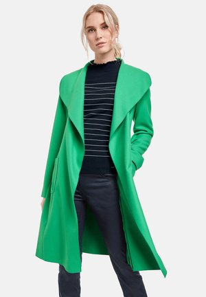 Trenchcoat - vibrant green