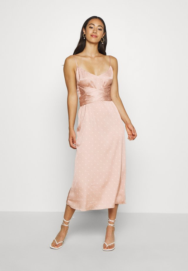 NATASHA MIDI DRESS - Vestito estivo - light pink