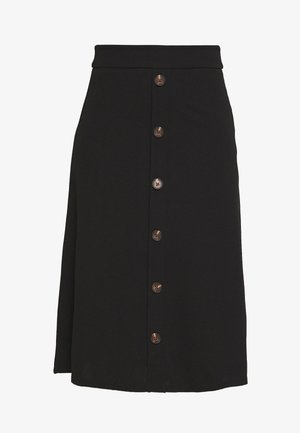 BELLIS - A-line skirt - black