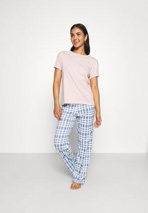 CHECK  - Pyjamas - pink mix