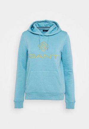 LOCK UP HOODIE - Jersey con capucha - seafoam blue