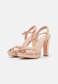 Menbur - High heeled sandals - rose gold - 2