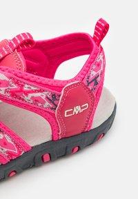 CMP - SAHIPH UNISEX - Walking sandals - fragola/gloss - 5