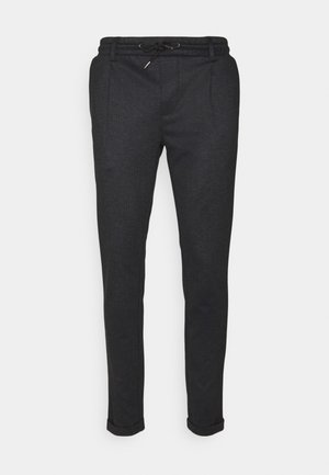 EBERLEIN WITH ROLLED UP - Pantalones chinos - cayman grey