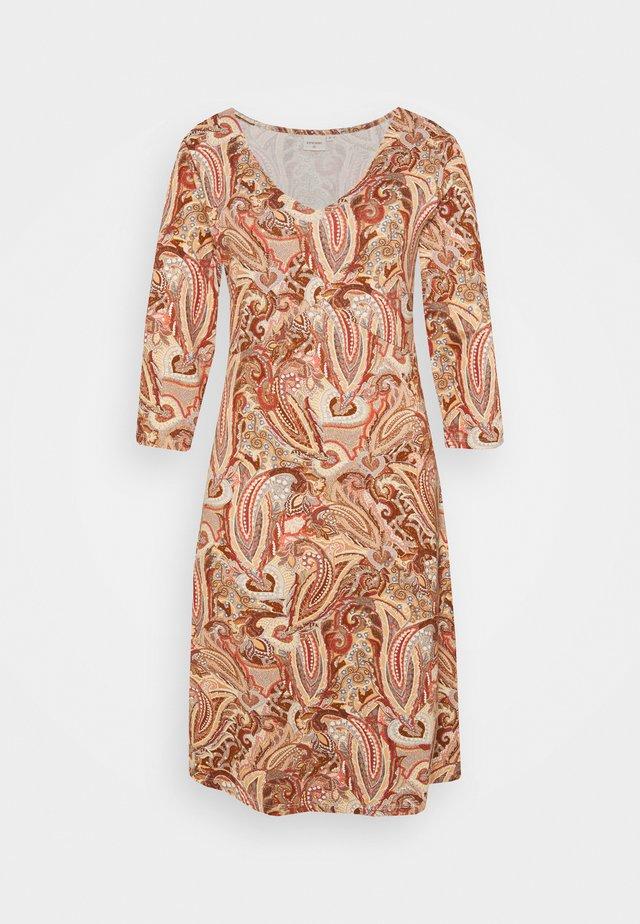 LULLA DRESS - Vestito estivo - rose brown