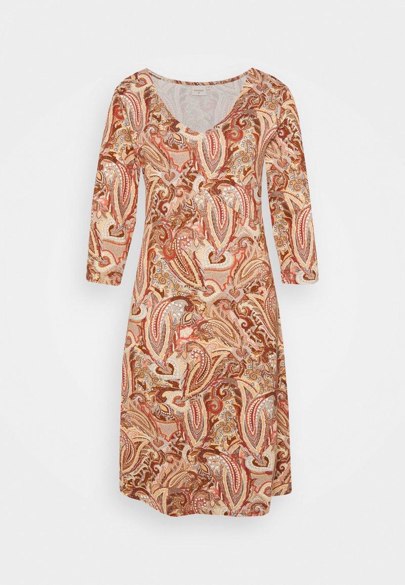 Cream - LULLA DRESS - Day dress - rose brown