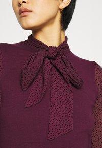 Dorothy Perkins - BOW - Blouse - burgundy - 5