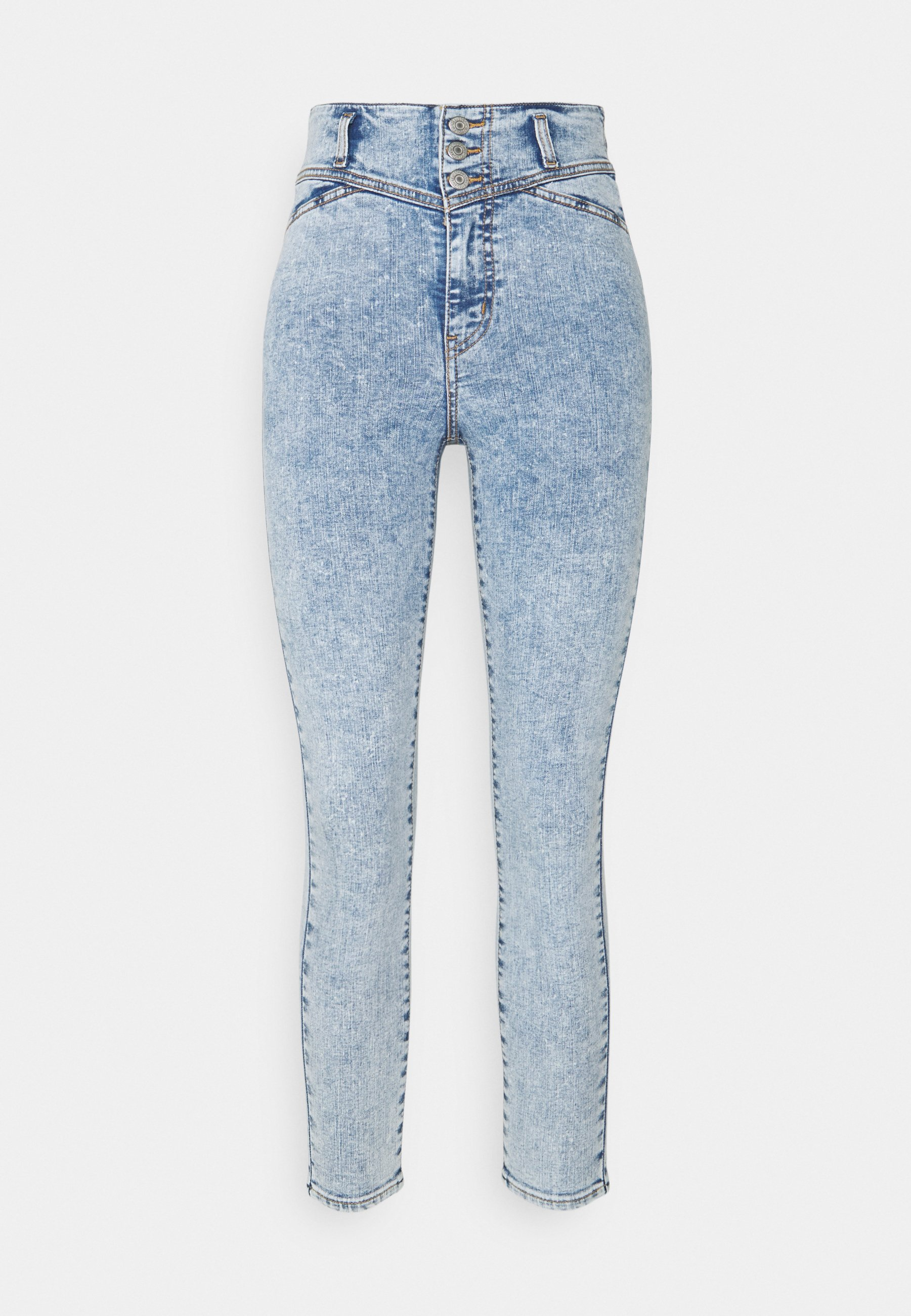 Damen UTILITY MILE HIGH ANKLE - Jeans Skinny Fit