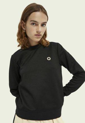 CLUB NOMADE BASIC - Long sleeved top - black