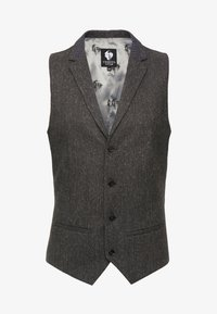 Twisted Tailor - SNOWDON WAISTCOAT - Waistcoat - charcoal - 4