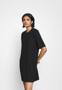 Monki - IZZY DRESS - Jerseykjole - black - 0