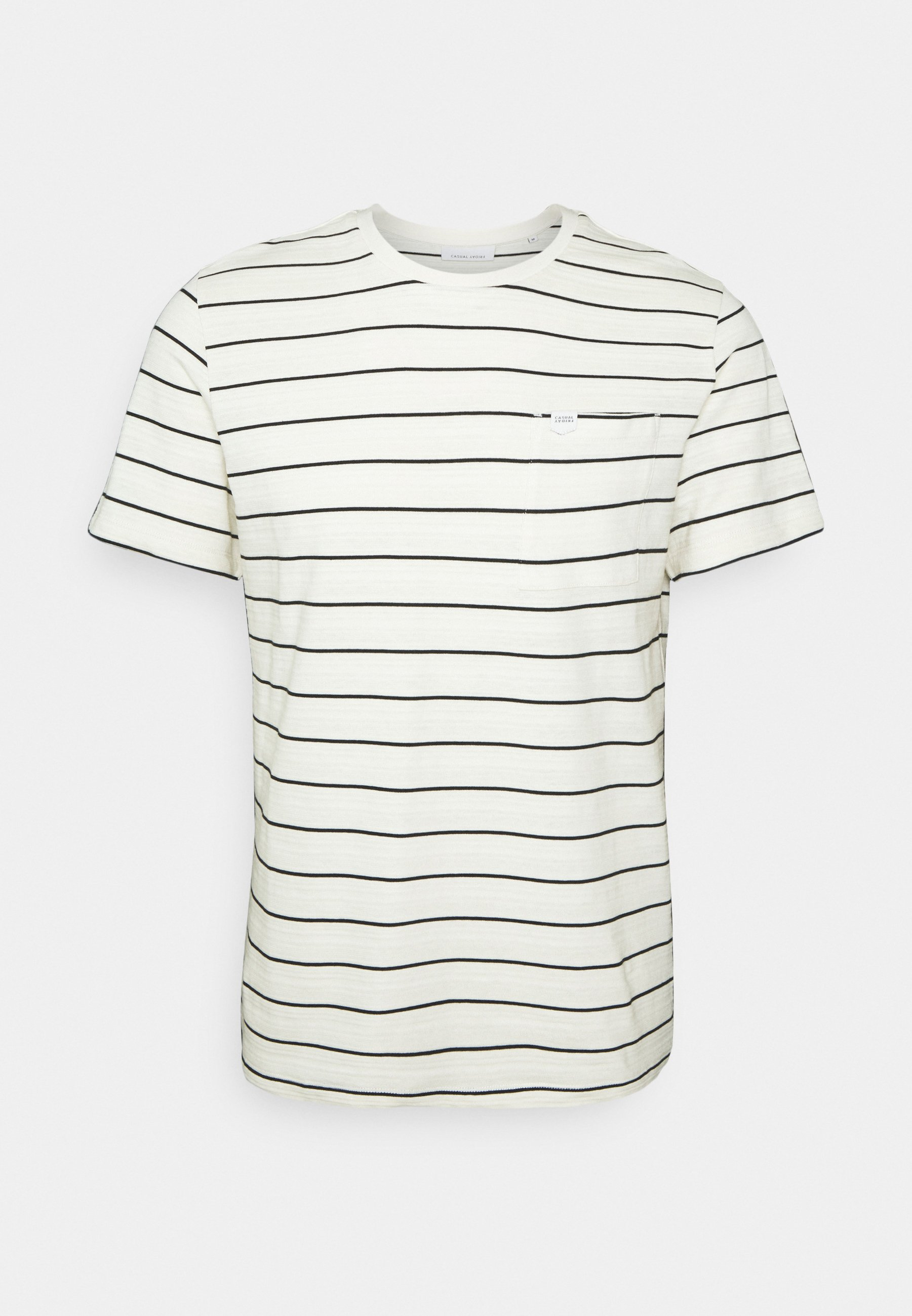 Men THOR STRIPED WITH STRUCTURE - Print T-shirt
