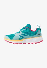 adidas Performance - TERREX TWO - Løbesko trail - turquoise/active teal/solar gold - 0