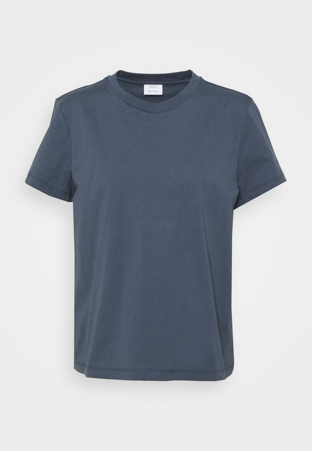 BOXY SHORT SLEEVE CREW - T-shirt basic - blue