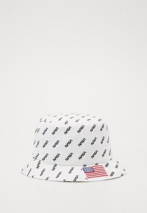 NASA ALLOVER BUCKET HAT - Hat - white