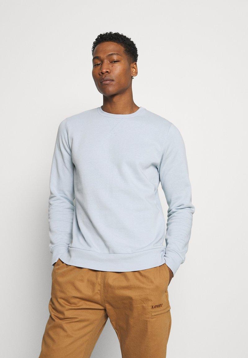 Brave Soul - JONES - Sweatshirt - baby blue/ light grey marl