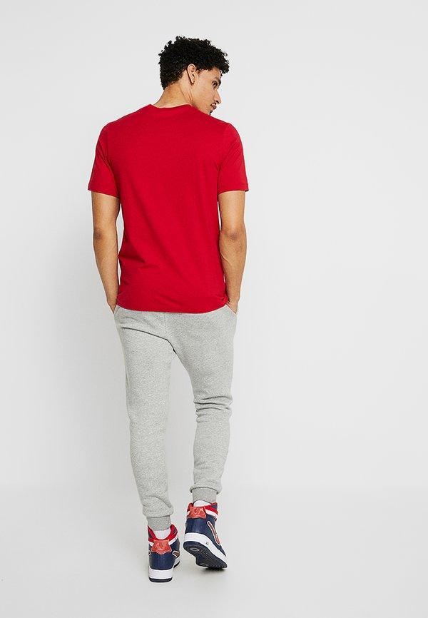 Jordan JUMPMAN CREW - T-shirt z nadrukiem - gym red/black/czerwony Odzież Męska EFUZ