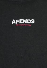 Afends - CONSPIRACY PULL ON HOOD UNISEX - Mikina - black - 2