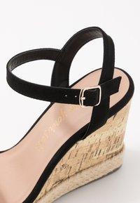 New Look - PERTH - Sandály na vysokém podpatku - black - 2