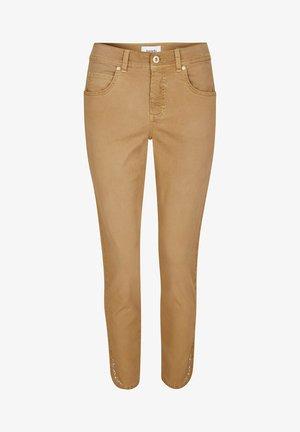 Slim fit jeans - hellbraun