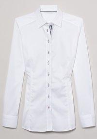 Eterna - Button-down blouse - weiß - 4