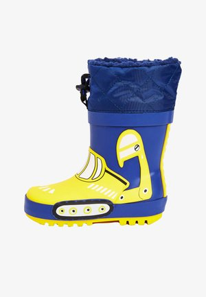 DIGGER THINSULATE CUFF - Wellies - blue