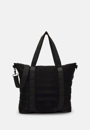 TOTE QUILTED UNISEX - Bolso shopping - velvet black