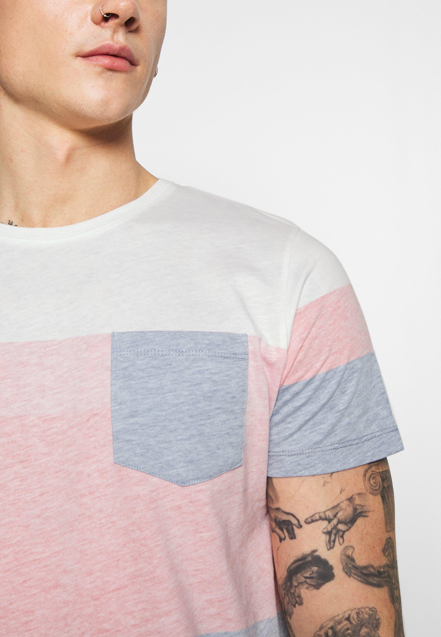 Redefined Rebel DEXTER TEE - Print T-shirt - poppy red hMcY9