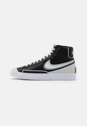 BLAZER MID '77 INFINITE - High-top trainers - black/white/grey fog/particle grey
