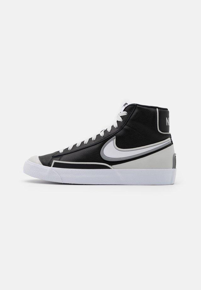 BLAZER MID '77 INFINITE - Sneakers alte - black/white/grey fog/particle grey