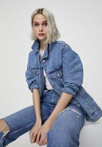 PULL&BEAR - Denim jacket - dark blue - 3
