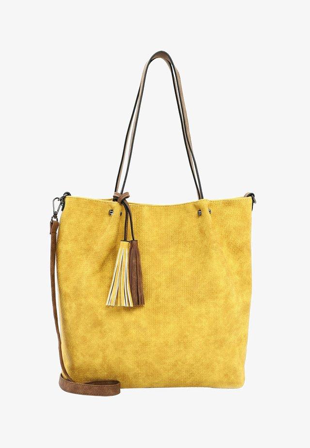 SURPRISE - Shopping Bag - yellow cognac