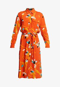 TAIKA DRESS - Shirt dress - burnt ochre