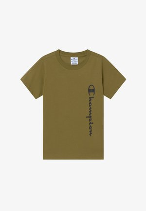BREAKING RULES CREWNECK - Camiseta estampada - khaki